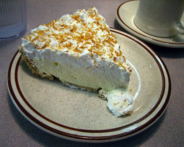 Dear Coconut Cream Pie So my friend, A, gave me a little critique on this
