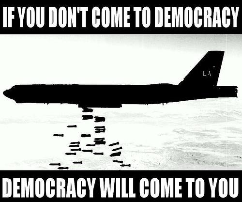 Democracy as a Tool of Oppression   CHOP-TENSILS Unsc Propaganda